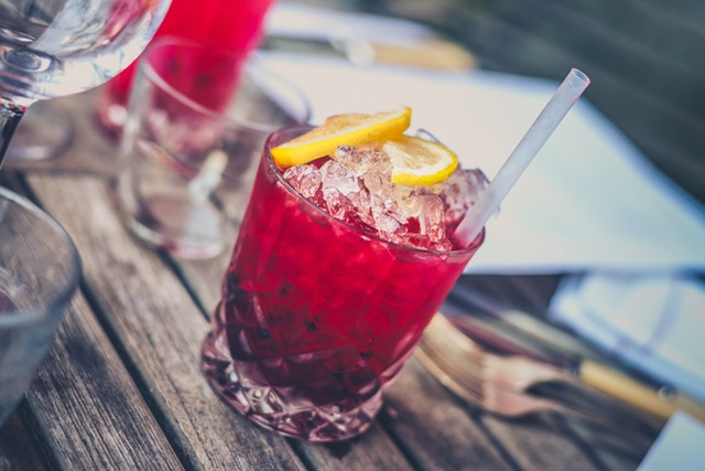 Grenadine Cordial for Mixologists + Bartenders